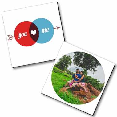 Personalized Magnet Couple - 36