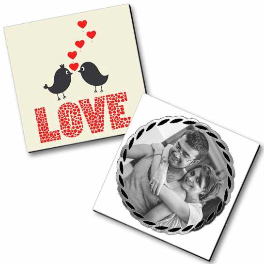 Personalized Magnet Couple - 38