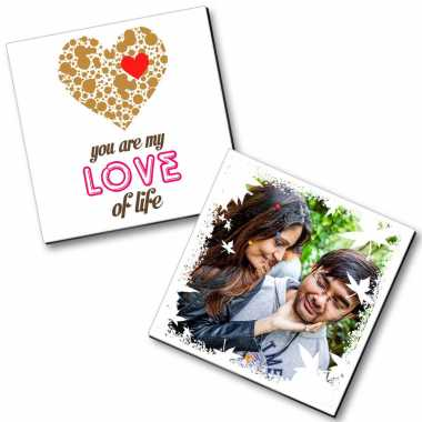 Love Life Personalized Magnet