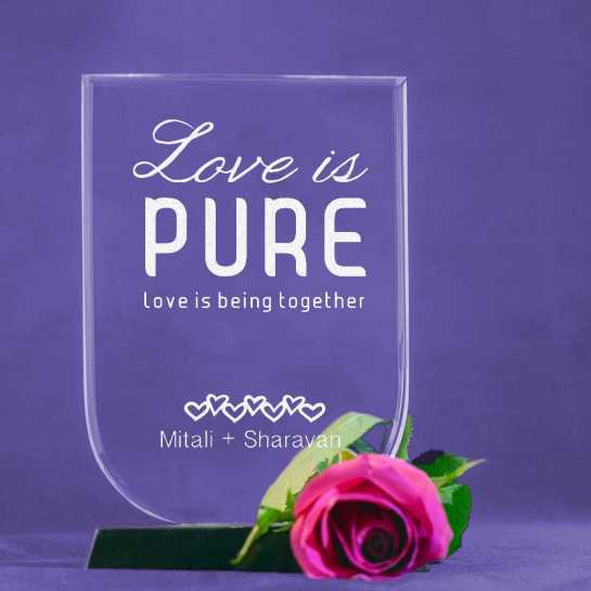 Pure Love - U Shaped Memento