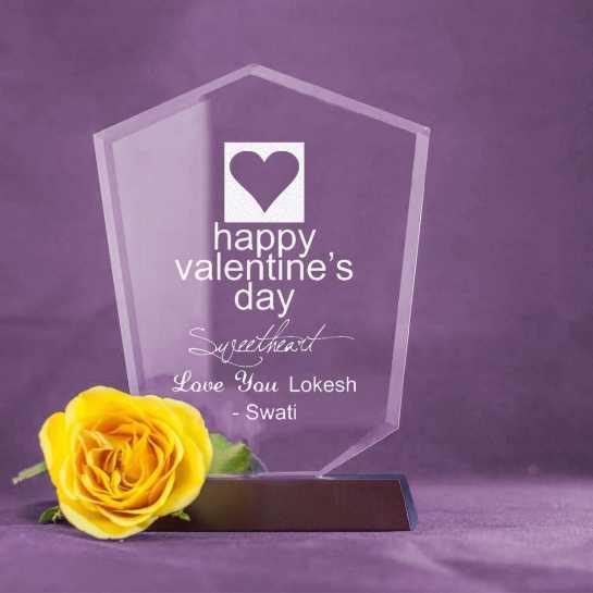 Happy Valentine's Day - V Shaped Memento