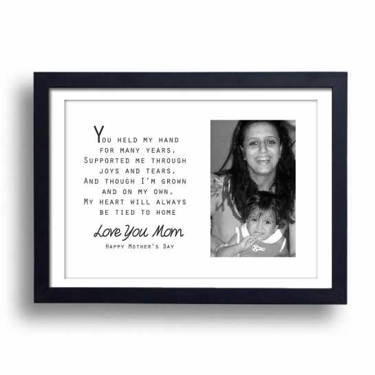 Love You Mom - Personalized Frame