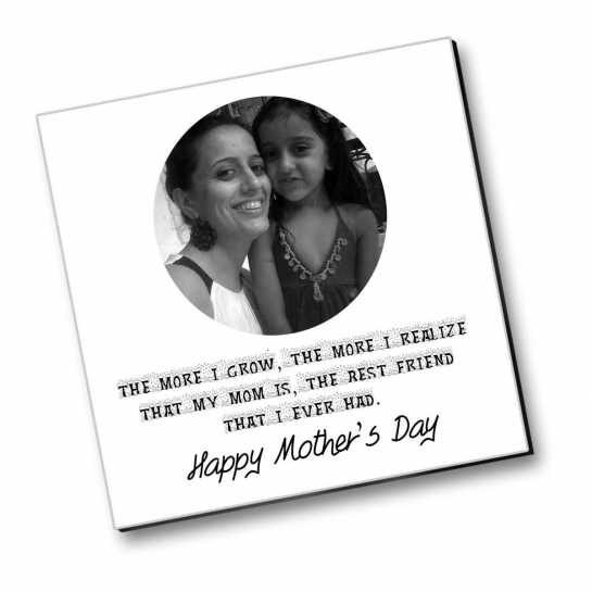 My Mom - Best Friend - Personalized Magnet