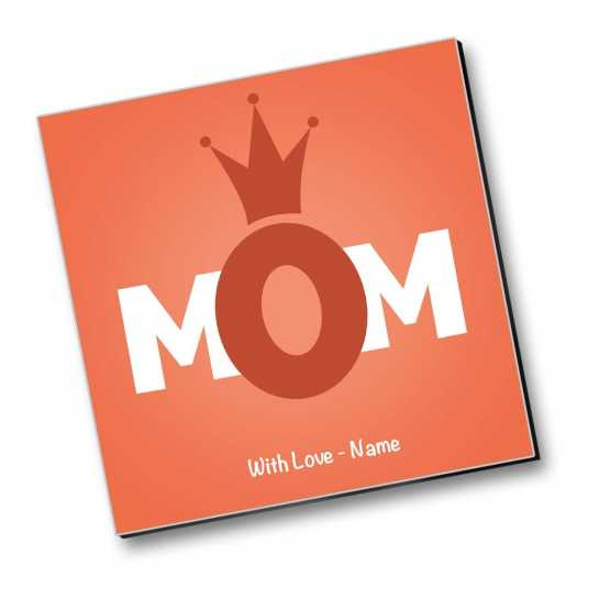 My Mom - My Queen - Personalized Magnet