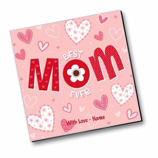 Best Mom Ever - Personalized Magnet