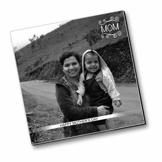full photo fridge magnet for mothers day by dezains