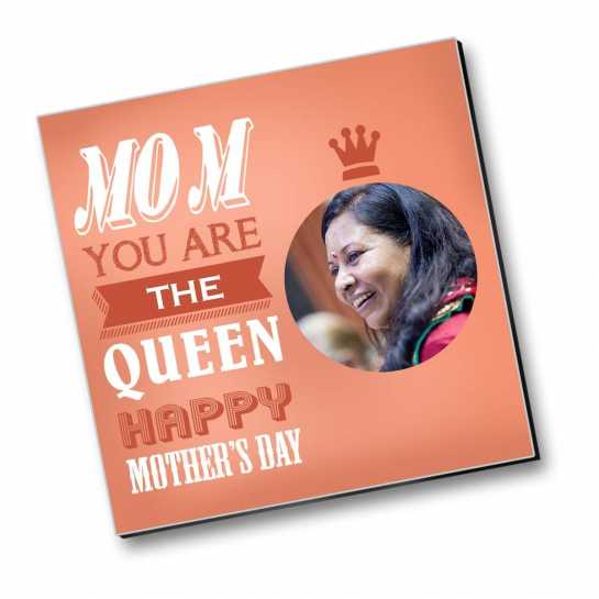 Mother - Queen - Personalized Magnet