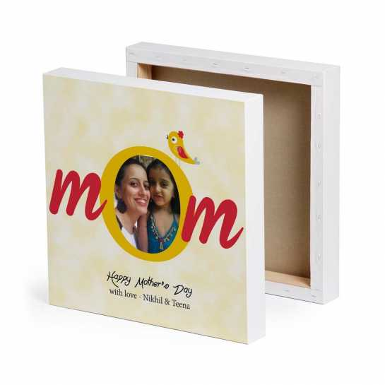 Mom - Personalized Canvas