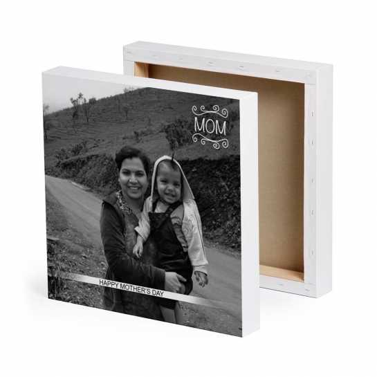 Happy Mother's Day - Personalized Canvas