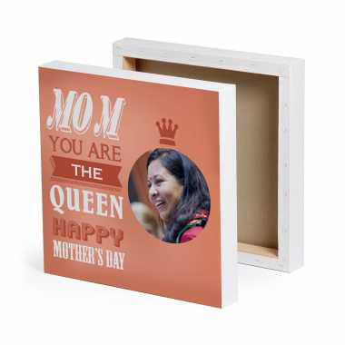 My Mom - My Queen - Personalized Canvas