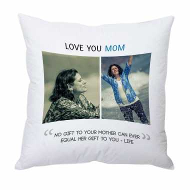 Love you Mom - Personalized Cushion