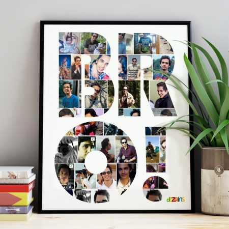 collage photo frame for brother