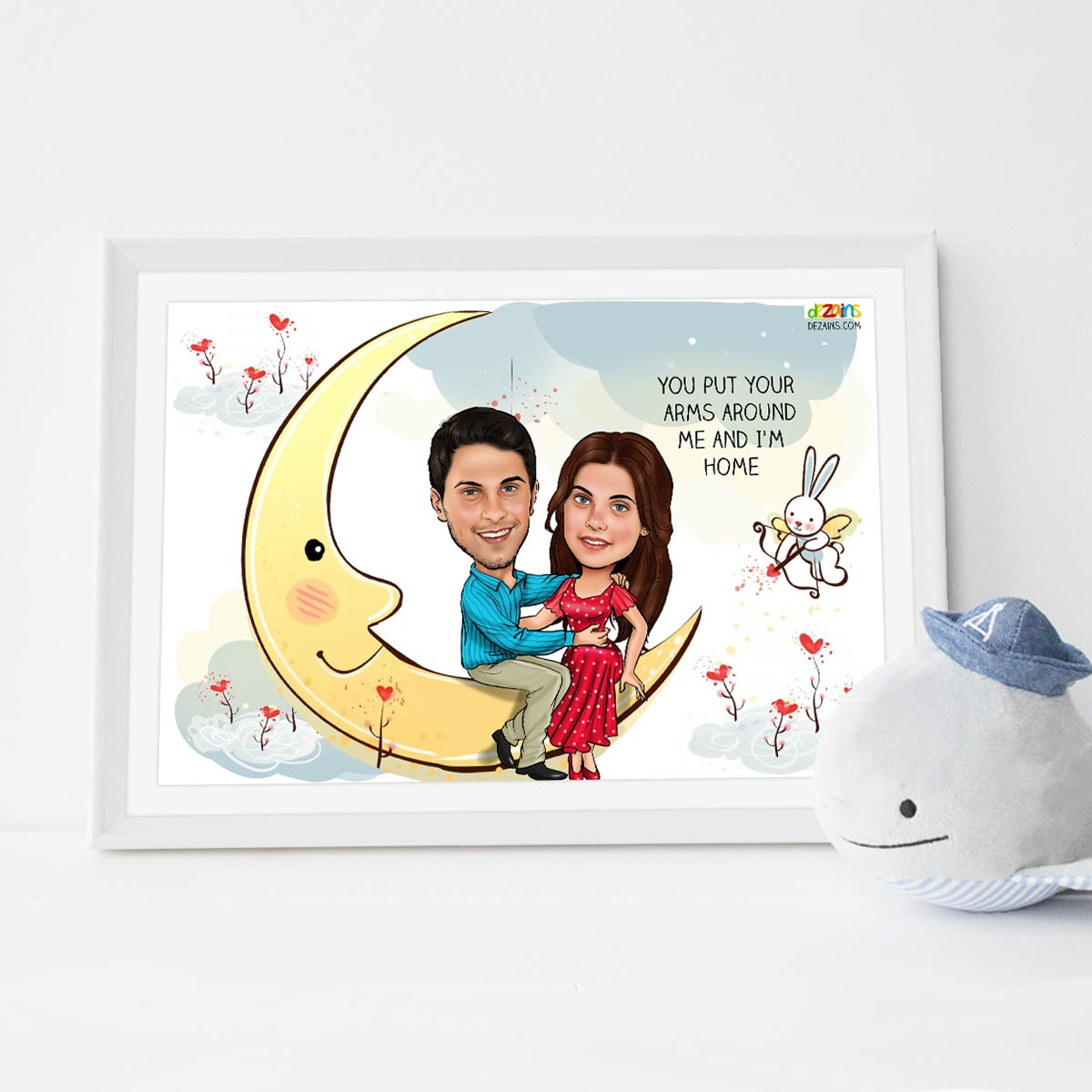 couple-sitting-on-moon-caricature-frame-1