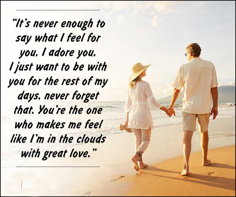 birthday quote for wife - romantic